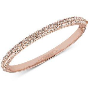Anne Klein Crystal Pavé Bangle Bracelet
